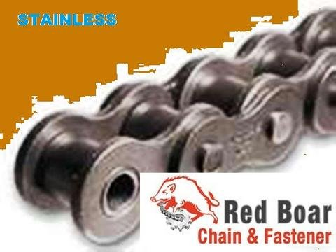 #60 Stainless Steel Roller Chain 10ft With 1 Connecting link 3/4