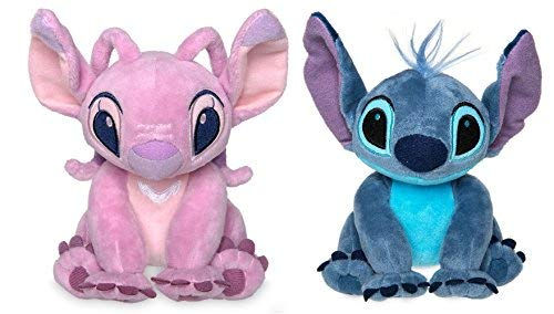 Disney Store Stitch & Angel Mini Plush Doll Set - Lilo & Stitch - 6 Inch ()