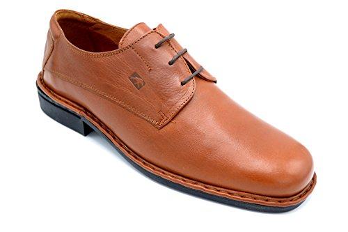Fluchos 3763 Cuero - Zapato de piel con cordones