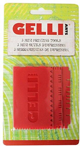 Gelli Arts Mini Printing Tools Set of Three Combs by Gelli Arts