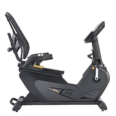 LifeCORE Fitness 960RB Recumbent Exercise Bike, Black Frame