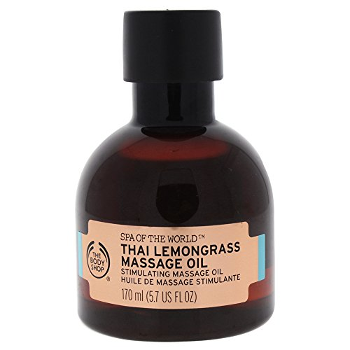 The Body Shop Spa of the World Thai Lemongrass Massage Oil, -