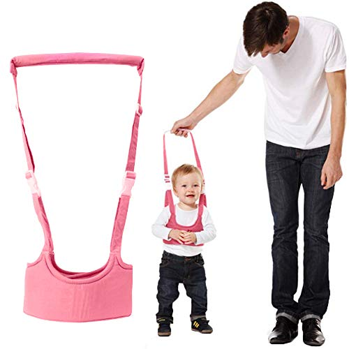 Sealive Handheld Baby Walking Harness, Safety First Baby Walker Stand Up Walking Assistant Walking Helper for Infant Child, Adjustable Toddler Learning Belt Help Baby Learn to Walk