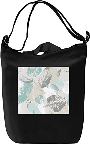 Green Leaf Texture Borsa Giornaliera Canvas Canvas Day Bag| 100% Premium Cotton Canvas| DTG Printing|