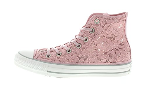 Converse Damen Sneakers - Cta Hi 561284c - Perzik Huid Perzik Huid Wit