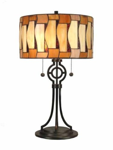Dale Tiffany TT90021 Addison Table Lamp, 13.75