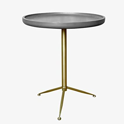 Cement side table Feminine Side Image Unavailable Amazoncom Amazoncom Coffee Table Vintage Imitation Cement Coffee Table Non