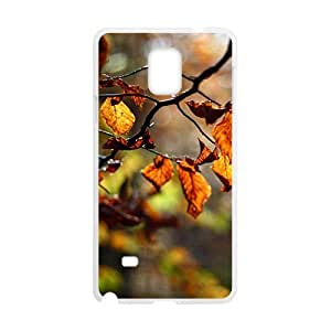 Autumn Forest White Phone Case for Samsung Galaxy Note4