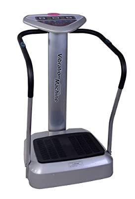 Soozier 1.5HP Vibration Massage Machine Full Body Slim Massager 50Levels