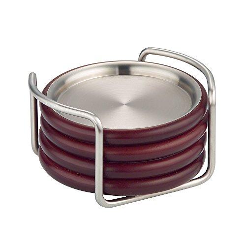 InterDesign Timbro Coaster Satin Nickel