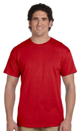 Gildan Adult Tall Ultra 6.1 oz Cotton T-Shirt in Red - 2XLT (2X-Large (Adult 2xlt Shirt)