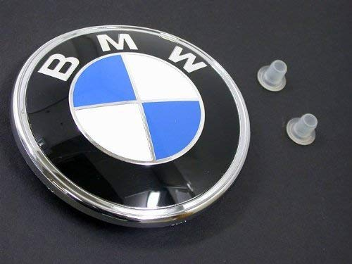 Bmw E30 325 Coupe - BMW e28 e30 Decklid Roundel KIT + Grommets GENUINE