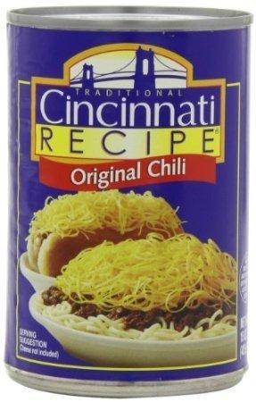 Cincinnati Recipe Chili 15oz Can