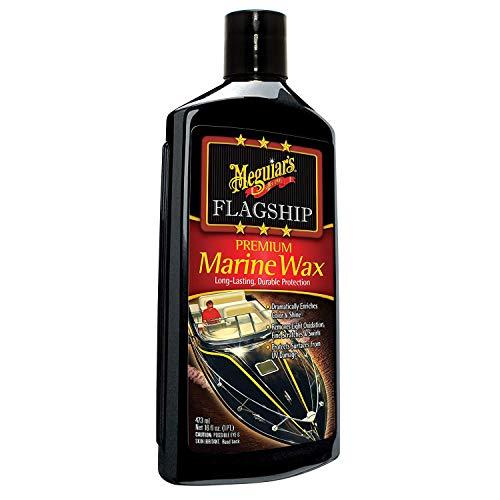 (Meguiar's M6316 Flagship Premium Marine Wax, 16 oz)
