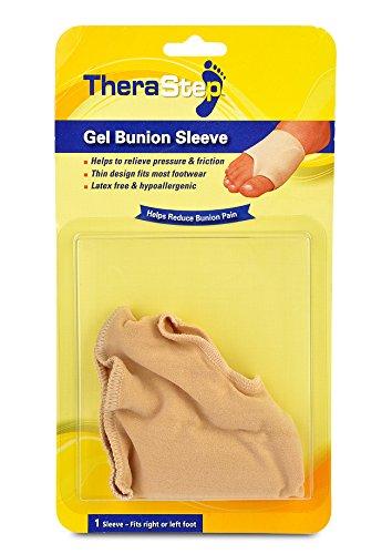 Silipos TheraStep 7013 Gel Bunion Sleeve1 Sleeve - Latex Free, Hypoallergenic Foot Sleeve. Foot Care Products