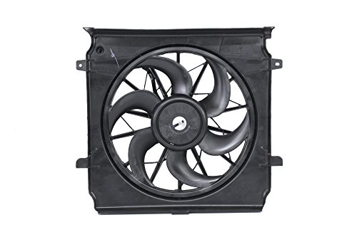 Genuine Chrysler Parts 55037659AA Radiator Cooling Fan Assembly by Chrysler (Image #1)
