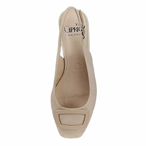 Caprice 9-29500-28-404 - Zapatos de vestir de Piel para mujer Beige