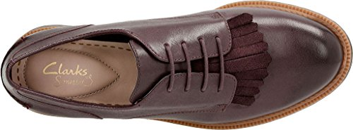 Aubergine Griffin Women's Mabel CLARKS Leather w81vxq