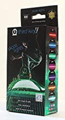 Third Kind skateboard lights are the brightest and SAFEST LIGHTS ON THE MARKET! They are designed by fellow skaters to be strong, lightweight and weatherproof. Third Kind skateboard lights include 7 changeable colors and a flash mode. These s...