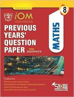 Buy IOM 8 International Olympiad of MATHEMATICS Class 8