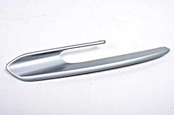 Genuine cromado embellecedor para luces antiniebla Grill derecho para BMW 3 F30 F31 moderno Line, 2011 y posterior: Amazon.es: Coche y moto