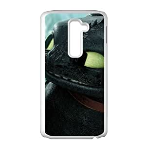 How to Train Your Dragon LG G2 Phone Case White Black Christmas Gifts&Gift Attractive Phone Case HLS5W0123652