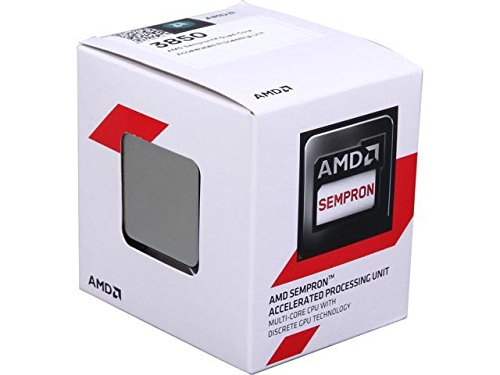 (AMD AD3850JAHMBOX 3850 Quad-Core Socket AM1 1.3 GHz APU Processor)