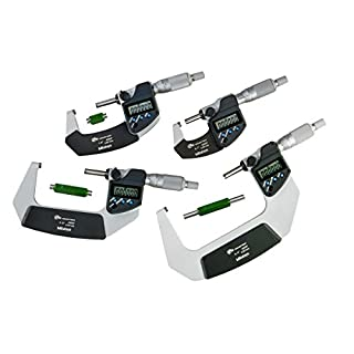 Mitutoyo 293-961-30 Digimatic Micrometer, Range: 0-4″/0-101.6 mm