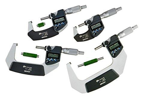 Mitutoyo 293-961-30 Digimatic Micrometer, Range: 0-4