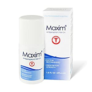 Maxim Prescription Strength Antiperspirant & Deodorant - Doctor and Dermatologist Recommended
