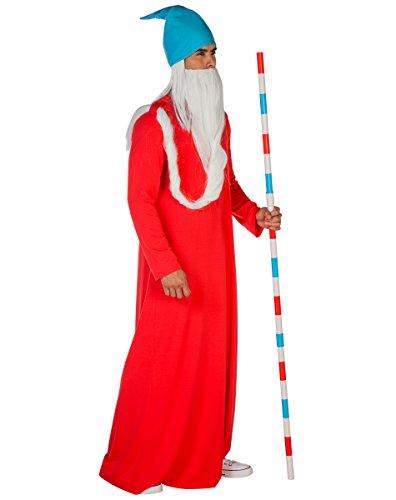 Spirit Halloween Adult Wizard whitebeard Costume - Where's Waldo?