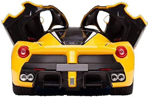 Zest 4 Toyz Remote Controlled Ferrari like Model Sports Car With Openable Doors (Yellow)