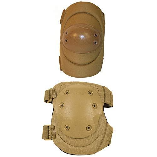 BLACKHAWK! Advanced Tactical Elbow Pads v.2 - Coyote Tan and BLACKHAWK! Advanced Tactical Knee Pads V.2 - Coyote Tan