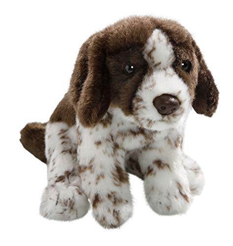 - Carl Dick English Pointer Hunting Dog Sitting 6.5 inches, 17cm, Plush Toy, Soft Toy, Stuffed Animal 2724