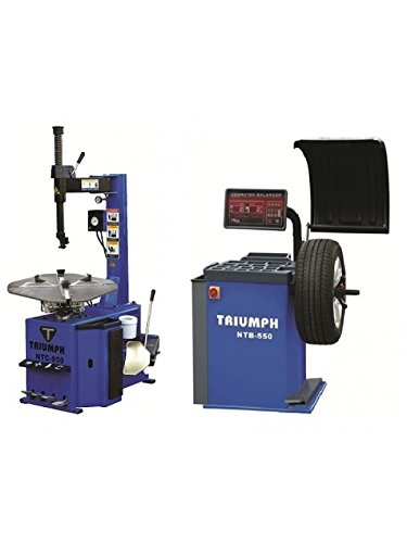 NTC-950 & NTB-550 Tire Changer Wheel Balancer Combo Package