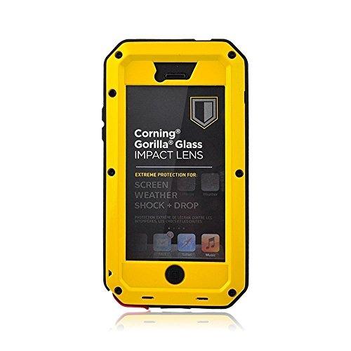 iphone 5 yellow bumper case - 6