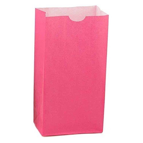 Hygloss Products Magenta Paper Bags – For Party