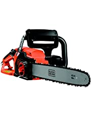 BLACK+DECKER CS2245-XE2200W,45cm Corded Chainsaw