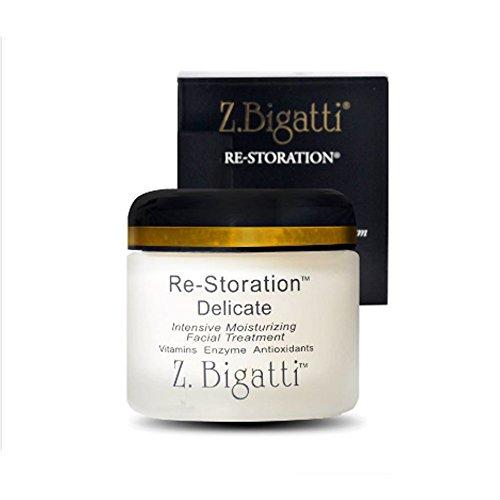 Z. Bigatti Re-Storation Intensive Moisturizing Facial Treatment, Delicate, 2 oz (56 g) - Delicate Intensive Moisturizing