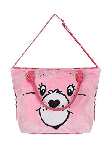 Iron Fist - Carebears bolsa de asas de la Mujer - Stare Pink