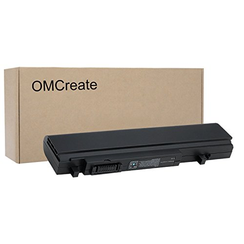 OMCreate Battery Compatible with Dell Studio XPS 1640 1645 1647 - fits P/N X411C PP35L U011C - 12 Months Warranty [Li-ion 6-Cell]