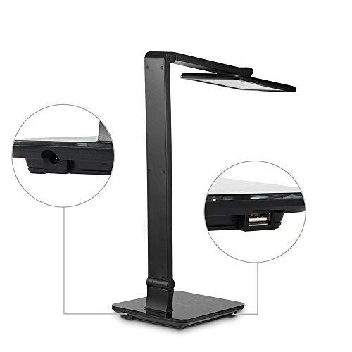 desk lamp taotronics led table lamps gradual dimming and colour. Black Bedroom Furniture Sets. Home Design Ideas