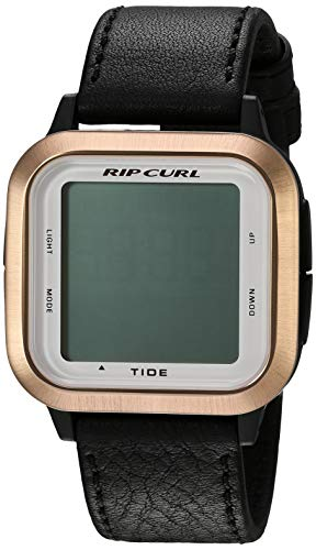 Rip Curl Women's Quartz Sport Watch with Silicone Strap, Black, 22.1 (Model: A1142GRSG1SZ)