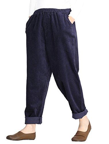 Pocket Bootcut Corduroy Pants - 6