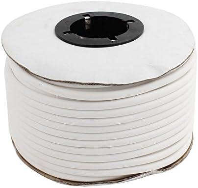 sourcing map 1 Volumen PVC organisieren Rohrhülse Torx Kabelmarker Weiß 4mm Innendurchmesser de