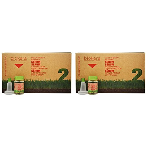 Salerm Biokera Natura Scalp Therapy Intensive Serum 6 x 0.34oz'Pack of 2'