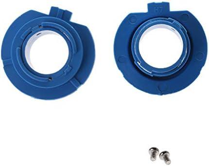 JENOR - 2 adaptadores de base de bombilla LED para faros delanteros 880/HB4/HB3/H11/H7/H4/H3/H1 para faros delanteros halógenos de coche