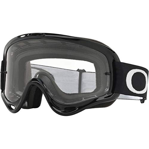 Oakley XS O Frame MX Adult Off-Road Motorcycle Goggles - Jet Black/Clear