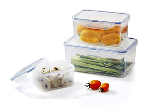 LOCK & LOCK 6-Piece Assorted Food Storage Container Set
