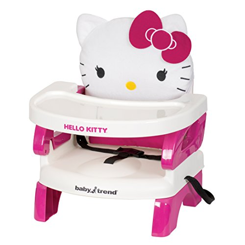 Baby Trend Portable High Chair Easyseat Toddler Booster, Hello Kitty Polka Dot